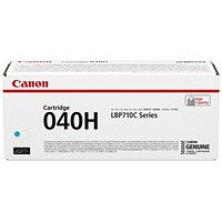 Canon 040H Cyan High Yield Laser Toner Cartridge