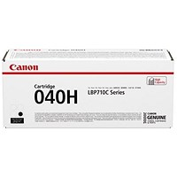 Canon 040H Black High Yield Laser Toner Cartridge