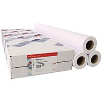 Canon Coated Premium Inkjet Paper Rolls, 914mm x 45m, 97003449, Pack of 3 Rolls