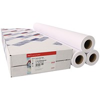 Canon Coated Premium Inkjet Paper Rolls, 841mm x 45m, 97003450, Pack of 3 Rolls