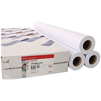 Canon Uncoated Draft Inkjet Paper, 841mm x 50m, 97003455, Pack of 3