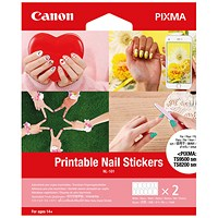 Canon Printable Nail Stickers NL-101 (Pack of 24) 32303C002