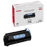 Canon 714 Black Laser Toner Cartridge 1153B002AA