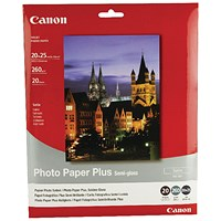 Canon SG-201 Bubble Jet Paper 8 x 10in (Pack of 20) 1686B018