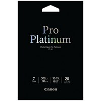 Canon PT-101 4x6 inches Photo Paper Platinum Pro (Pack of 20) 2768B013