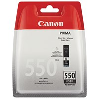 Canon PGI-550 Black Ink Cartridge Blistered Security 6496B004