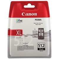 Canon PG-512 Black Inkjet Cartridge