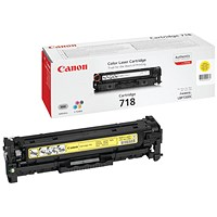 Canon 718 Yellow Laser Toner Cartridge