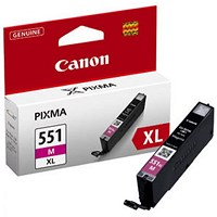 Canon CLI-551XL Magenta High Yield Inkjet Cartridge