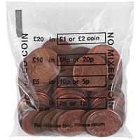 Cash Denominated Coin Bag (Pack of 5000)