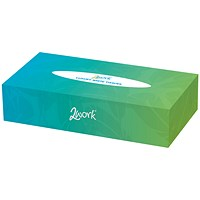 2Work Facial Tissues Box 100 Sheets (Pack of 36) KMA