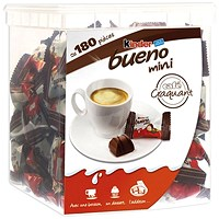 Kinder Bueno Mini (Pack of 180) 0401168