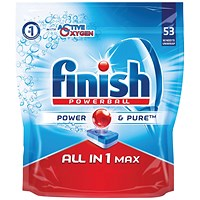 Finish All-in-One Max Original Dishwasher Tablets (Pack of 53)