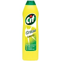 Cif Professional Cream Cleaner, Lemon, 500ml