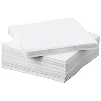 Napkin 2-Ply 330x330mm White (Pack of 100) 0502135