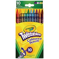 Crayola Twistable Pencils (Pack of 60)