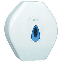 2Work Mini Jumbo Toilet Roll Dispenser CT34014