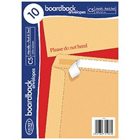 County Stationery C4 10 Manilla Board Envelopes (Pack of 100) C525