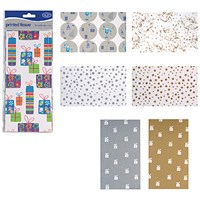 County Stationery Printed Tissue Assorted Designs (Pack of 60)