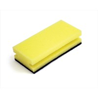 Sponge Scourer Recycled Non-Scratch Heavy Duty - Pack 10