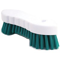 Hand Held Scrubbing Brush Green VOW/20164G