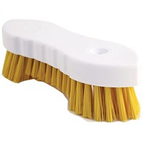 Hand Held Scrubbing Brush Yellow VOW/20164Y