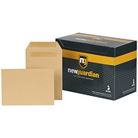 New Guardian Heavyweight C5 Pocket Envelopes / Manilla / Press Seal / 130gsm / Pack of 250