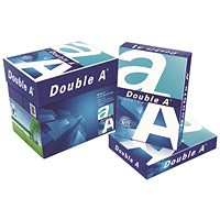 Double A White Premium A4 Paper, 80gsm, Box ( 5 x 500 Sheets)