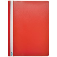 Elba A4 Report Files, Red, Pack of 50