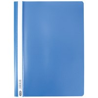 Elba A4 Clearview Folders, Blue, Pack of 50