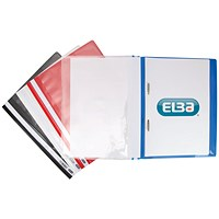 Elba Pocket Report File A4 Assorted (Pack of 25)