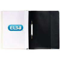 Elba A4+ Report Files, Black, Pack of 25