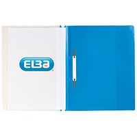 Elba A4+ Report Files, Blue, Pack of 25