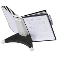 Durable Sherpa Desk Unit 10 Grey and Black
