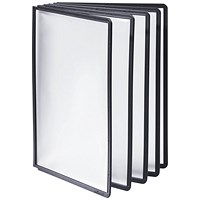 Durable Sherpa Display Panel A4 Black (Pack of 10)