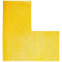 Durable Floor Marking Shape L, Yellow, Pack of 10