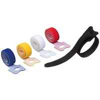 Durable Cavoline Cable Management Grip Tie Assorted