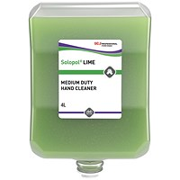 DEB Solopol Lime Wash - 4 Litre Cartridge