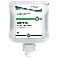 DEB Estesol Lotion Pure- 1 Litre Cartridge