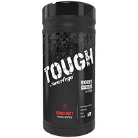 DEB Tough Heavy Duty Wipes, 70 Sheets, Pack of 6