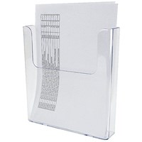 Deflecto Flat Back Literature Holder A4