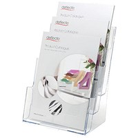 Deflecto 3 Tier Literature Holder A4