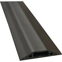 D-Line Black Floor Cable Cover, 30x10mm Section, 1.8m