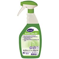 Diversey Room Care R2 Hard Surface Cleaner 750ml (Pack of 6)
