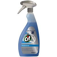Cif Professional Multisurface and Window Cleaner 750ml
