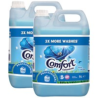 Comfort Professional Concentrated Fabric Softener Original 5L (Pack of 2)