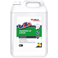 Brillo Concentrated Washing Up Liquid - 5 Litre