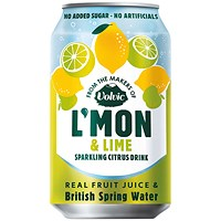 Volvic LMon Lemon and Lime - Pack of 12