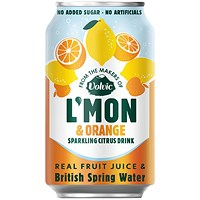 Volvic LMon Lemon and Orange - Pack of 12