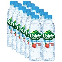 Volvic Touch of Fruit Strawberry Fruit Water, 12 x 500ml Bottles